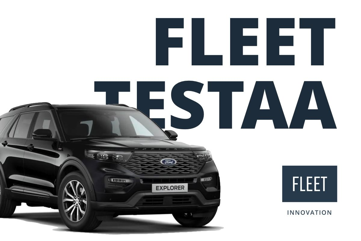 Koeajo Fleet testaa Ford Explorer 3,0 V6 Ecoboost AWD Platinum Plug-In hybridi Fleet Innovation testaa