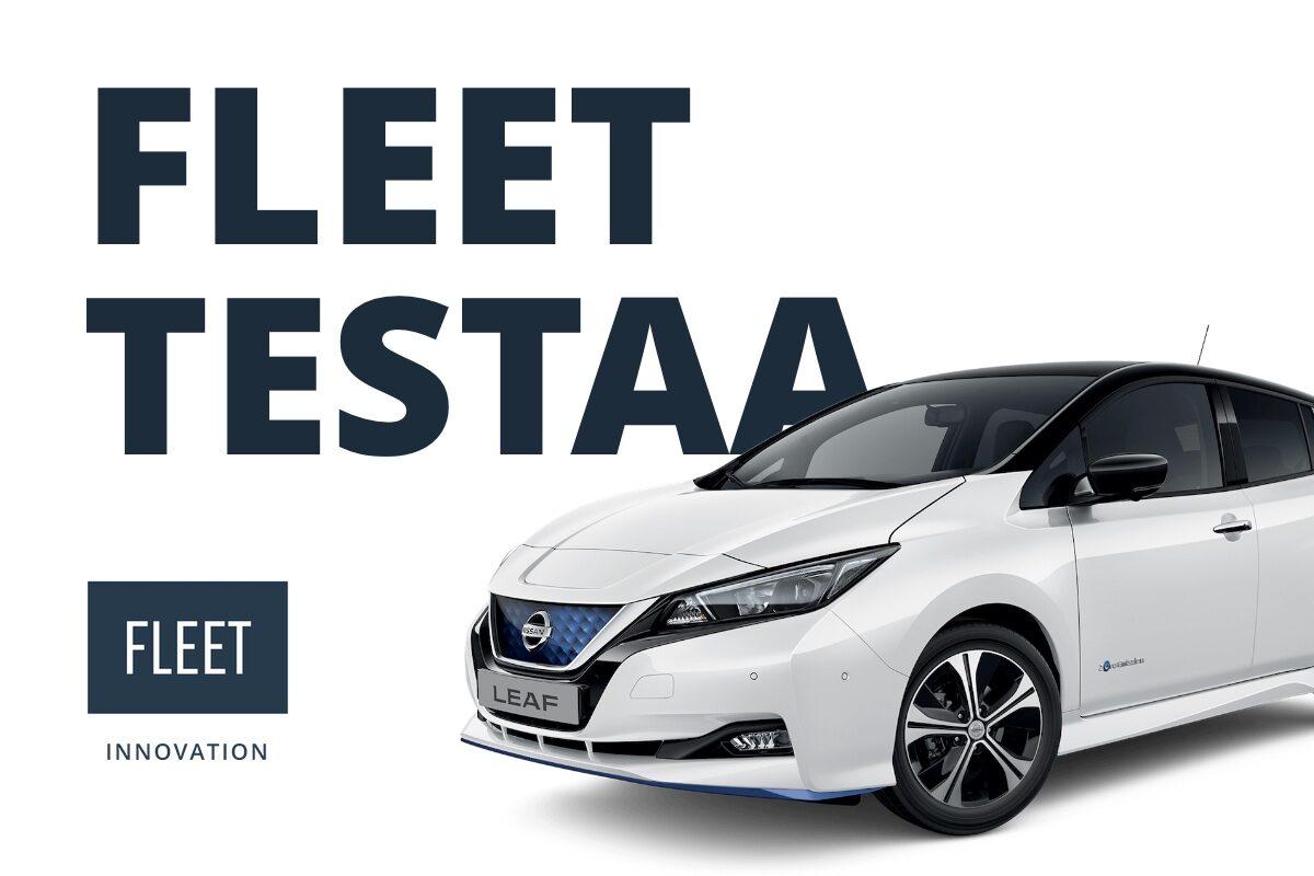 Koeajo Nissan Leaf 62 kWh e+ Tekna täyssähköauto leasing auto yritykselle